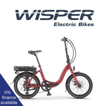 Wisper 806 folding bike